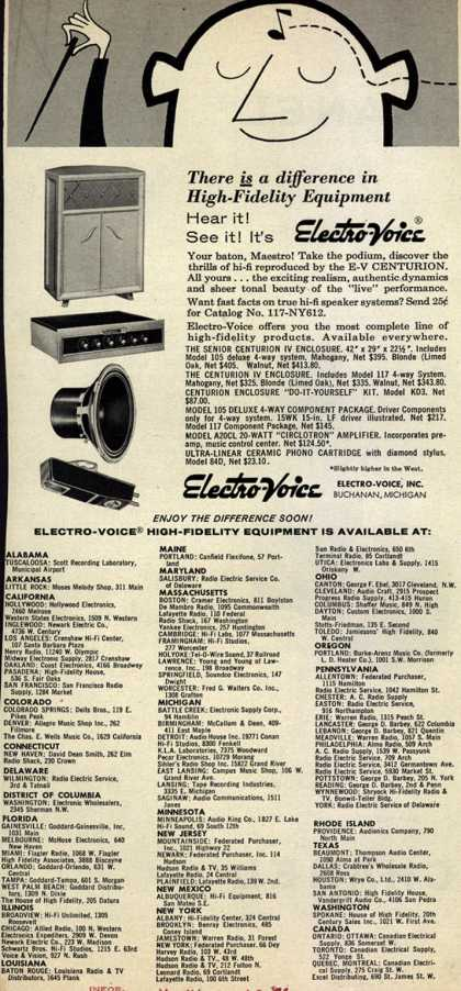 Electro-Voice's Various – There Is a difference in High-Fidelity Equipment (1956)
