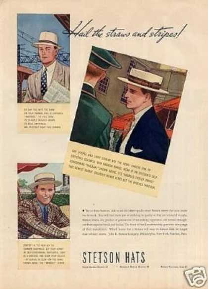 Stetson Hats Color (1937)