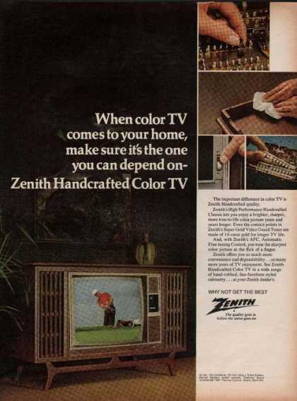 Zenith Color Television (1969)