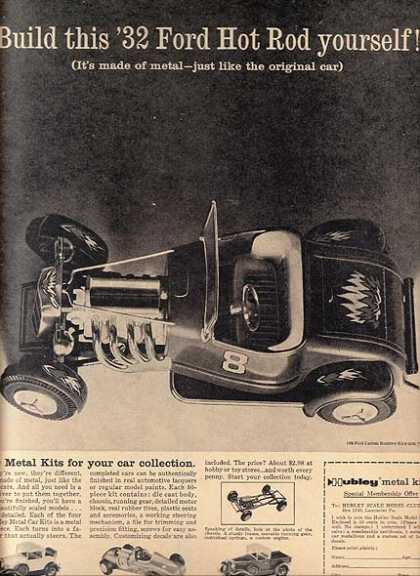 Hubley&#8217;s Metal Kits (1960)