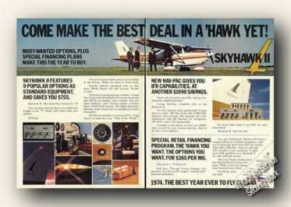 Cessna Skyhawk Ii Photos 2 Pg Airplane (1974)