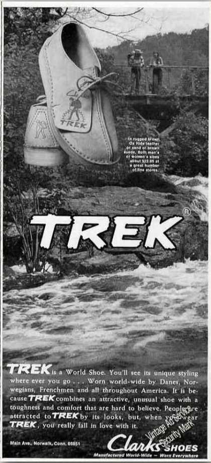 Trek Is a World Shoe Clarks (1972)