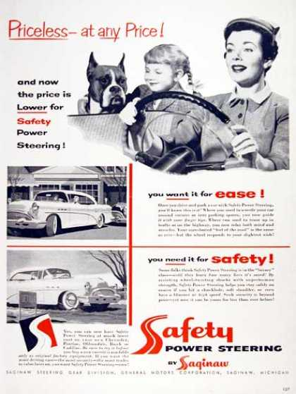 Safety Power Steering (1954)