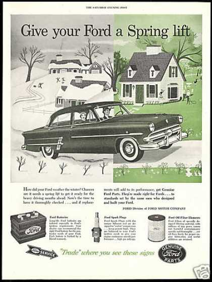 Ford Car Genuine Parts Vintage (1954)