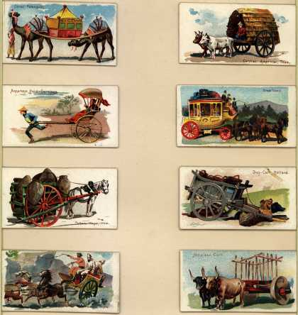W. Duke Sons & Co.'s Duke's Cigarettes – 50 Vehicles of the World – Image 5