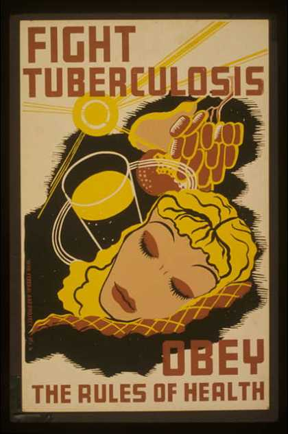 Fight tuberculosis – obey the rules of health. (1936)