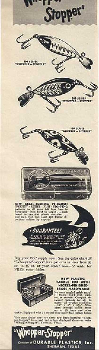 Whopper-Stopper's Fishing Lures (1952)