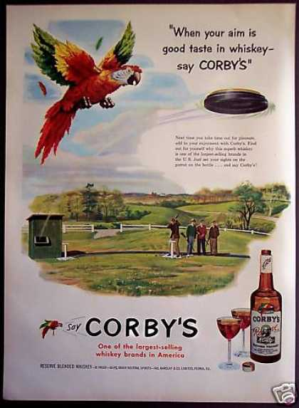 Corby's Whiskey Skeet Shooting (1952)
