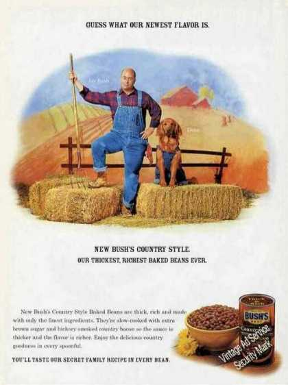 Bush's Country Style Baked Beans Jay Bush/duke (2001)