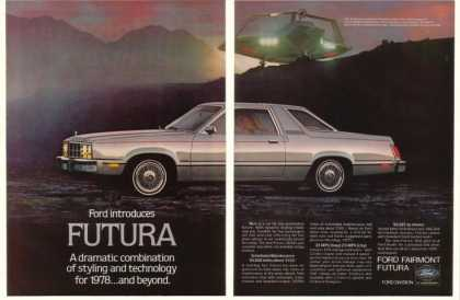 '77 1978 Ford Fairmont Futura Future Spacecraft (1977)