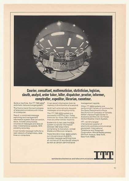 ITT 7300 ADX Data Exchange Computer System (1964)
