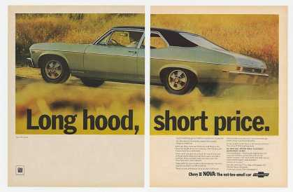 Chevy II Nova SS Coupe Long Hood Short Price 2P (1968)