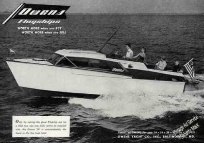 Owens 26' Flagship Photo Collectible (1956)
