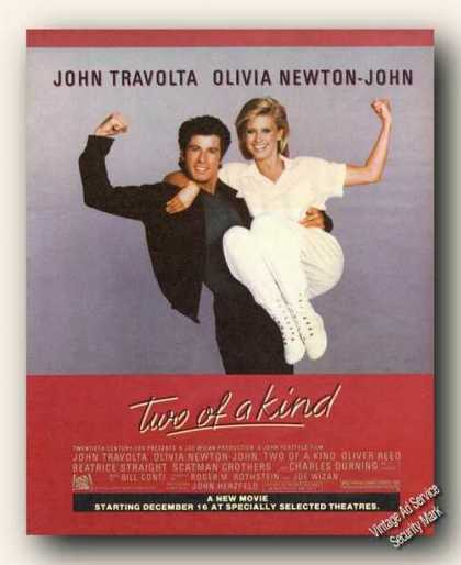 John Travolta/olivia Newton-john Photo Movie (1983)