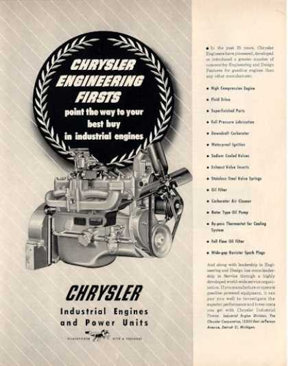 Chrysler Gas Engine Development (1950)