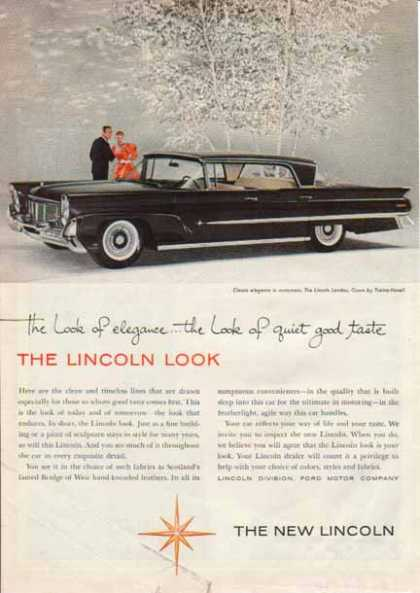 Lincoln Landau Car – Black (1958)