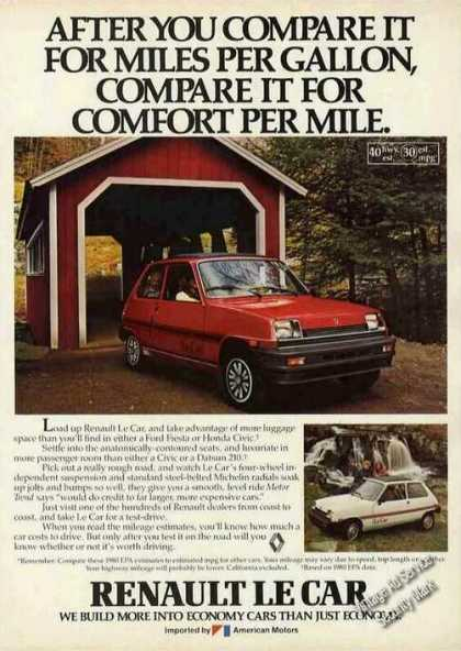 "Renault Le Car ""Comfort"" Covered Bridge (1980)"