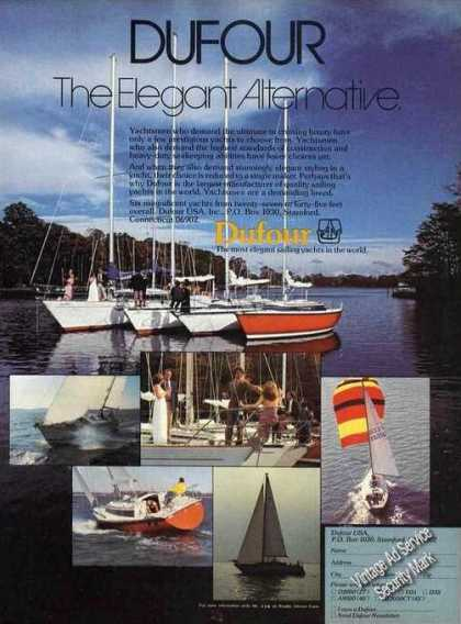 Dufour Yachts Stamford Ct Color Photos (1980)