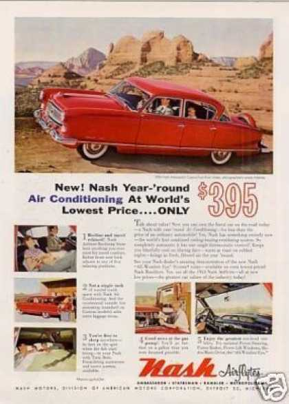Nash Ambassador Custom 4-door Sedan (1954)