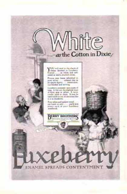 Luxeberry Enamel – Berry Brothers Varnishes Enamels Stains (1924)