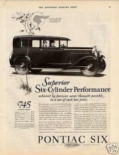 Pontiac Six 2-door Sedan (1928)