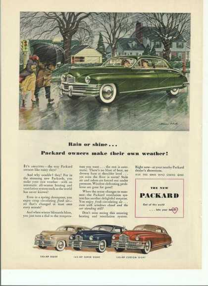 Rain or Shine Packard Car (1948)