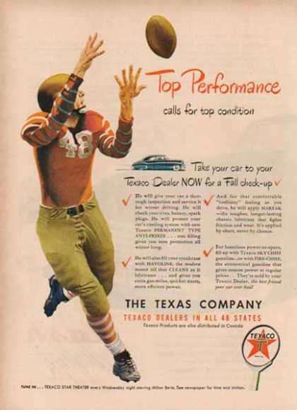 Texaco – Football Top Performance (1948)