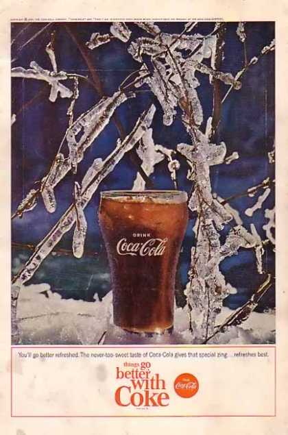 Coke Things Go better with Coke (1964)
