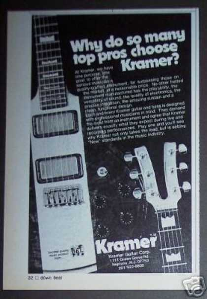 Kramer Electric Guitar (1979)