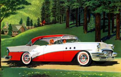 Never have so many bought so much for so little Buick Special (1955)