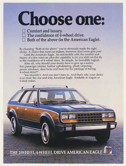 AMC American Eagle 4-Wheel Drive Comfort Luxury (1984)