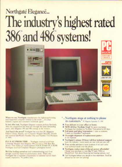 Northgate Computer – 386 and 486 Systems (1991)