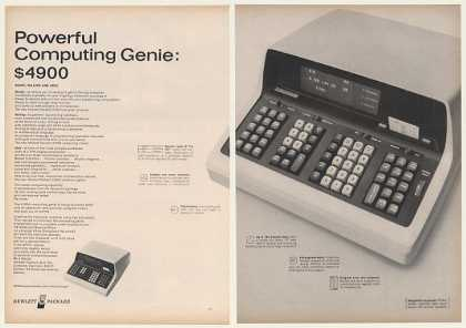 Hewlett-Packard HP 9100A Computer Calculator 2P (1968)