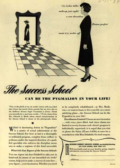 Richard Hudnut's Hudnut Success School – The Success School Can Be The Pygmalion In Your Life (1939)