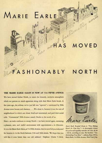 Marie Earle – Marie Earle Has Moved Fashionably North (1932)