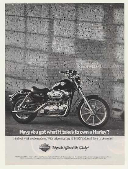 Harley-Davidson Sportster 883 Motorcycle Photo (1989)