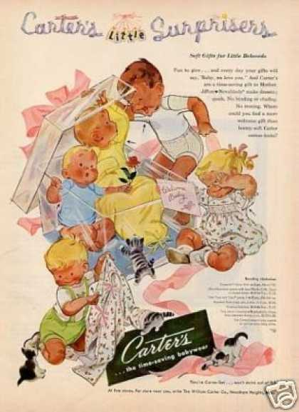 Carter's Children's Clothes (1952)
