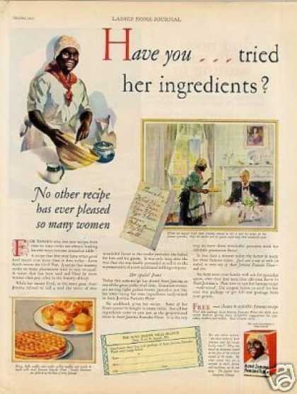 "Aunt Jemima Pancakes Ad ""Have You Tried... (1927)"