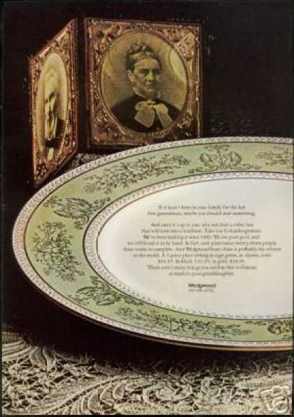 Wedgwood China Collection to Tradition (1968)