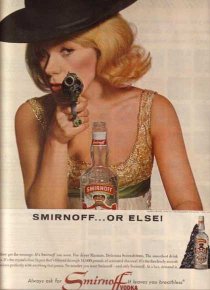 Smirnoff Vodka – Tammy Grimes (1964)