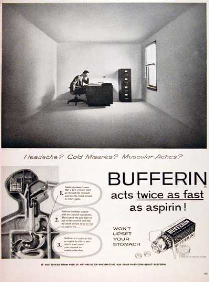 Bufferin Analgesic #2 (1956)