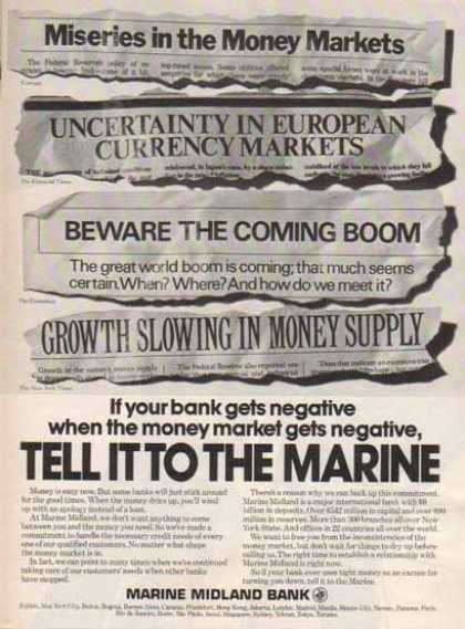 Marine Midland – Money Markets get tight (1976)