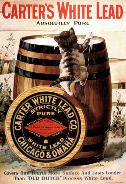 Paint Carters Lead, USA (1910)