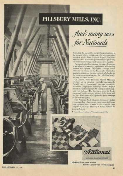 Pillsbury Mills National Machines (1946)