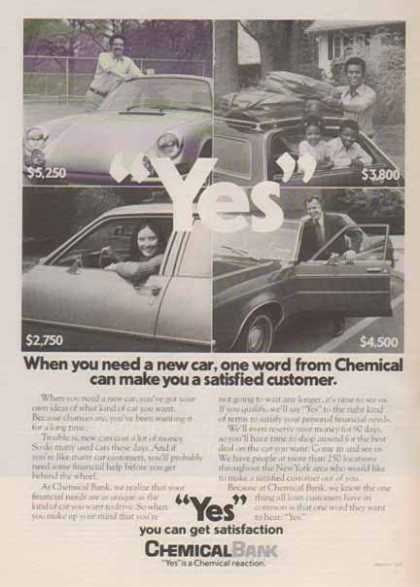 Chemical Bank – YES you get satisfaction (1976)