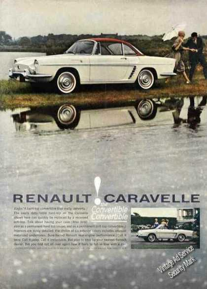 Renault Caravelle the Convertible Convertible (1961)