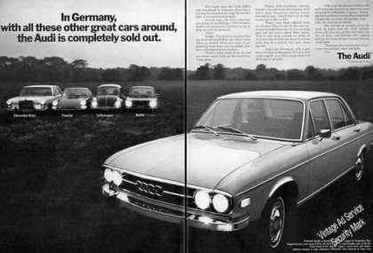 Audi 100ls Completely Sold Out In Germany Rare (1970)