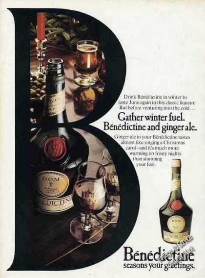 Benedictine & Ginger Ale Season Your Greetings (1977)
