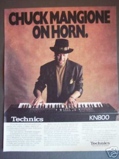 Chuck Mangione Photo Technics Keyboard Promo (1989)