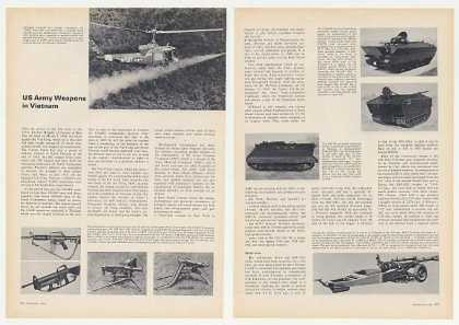 US Army Weapons in Vietnam 9-Page Photo Article (1967)
